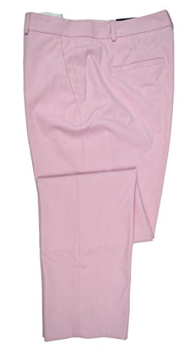 - Banana Republic Machine Washable Ryan Curvy Pink Twill Slim Straight Suit Pant (0)