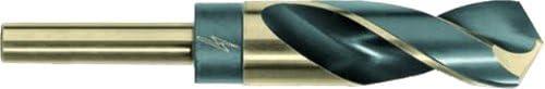 1-Pack Black and Bright Finish Triumph Twist Drill Co 094148 3//4 Diameter T9FHD High Speed Steel Drill