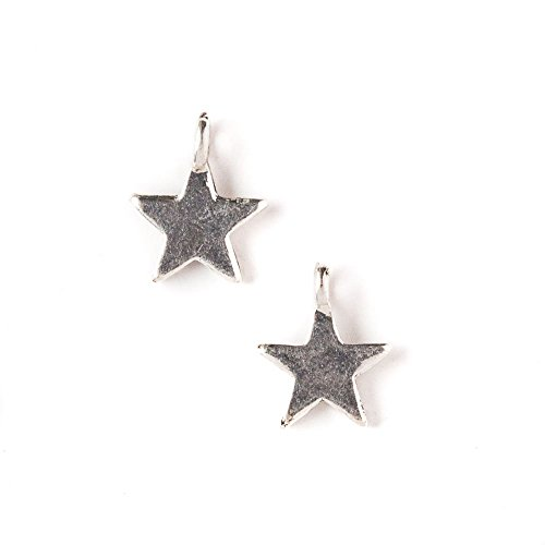 - Cherry Blossom Beads 11x13mm Star Charm - 10 per Bag