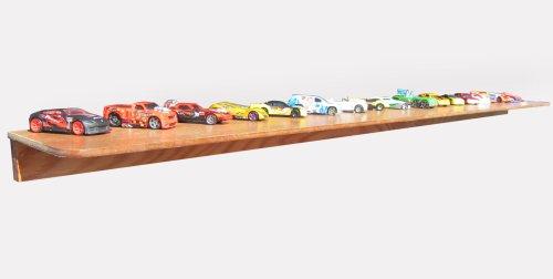 Hot Wheels Wall Accent - KR Ideas Standard Hot Wheel Display Shelf