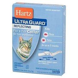 Hartz 02899 White 2 In 1® Advanced Care™ Flea & Tick Collar For Cats
