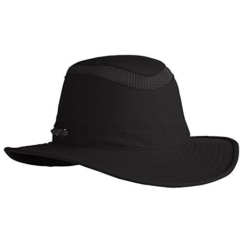 Small Black Hats - Tilley LTM6 Airflo Hat - Black 7-3/4