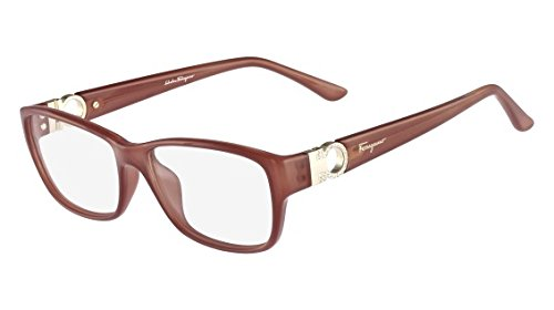 b213a6bad4 Image Unavailable. Image not available for. Color  Salvatore Ferragamo  Eyeglasses SF2666R 643 Antique Rose ...