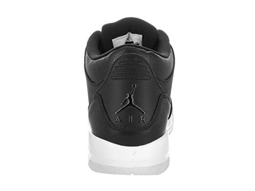 Jordan Nike Kids Air 3 Retro BG Basketball Shoe Black/Black/White ZVIdUB