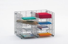 Charnstrom 8 Pockets Letter Depth Shelf Wire Sorter (W472) by Charnstrom
