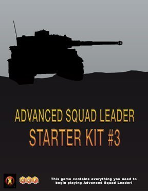 MMP: Advanced Squd Leader [ASL] Starter Kit  3 Board Game by MMP Multi-Man Publishing