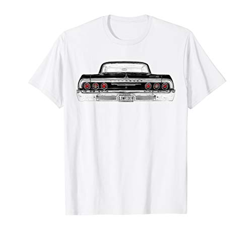 - Mens 64 Lowrider Impala Back Rear