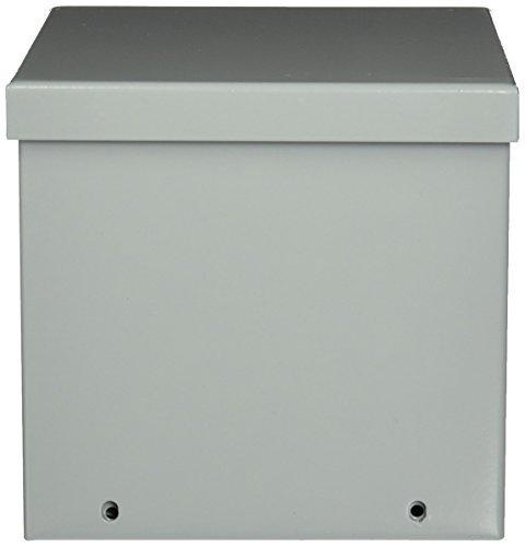 Hoffman A6R66 NEMA 3R Enclosure, Screw Cover, Galvanized, Paint Finish, 6
