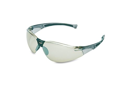 - UVEX by Honeywell A804 Series Safety Eyewear Indoor/Outdoor Sliver Mirror Lens with Anti-Scratch Hardcoat