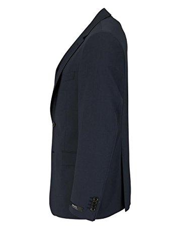 DIGEL Sakko Langarm DAMIAN-AMF Reverskragen mit zwei Knöpfe nachtblau