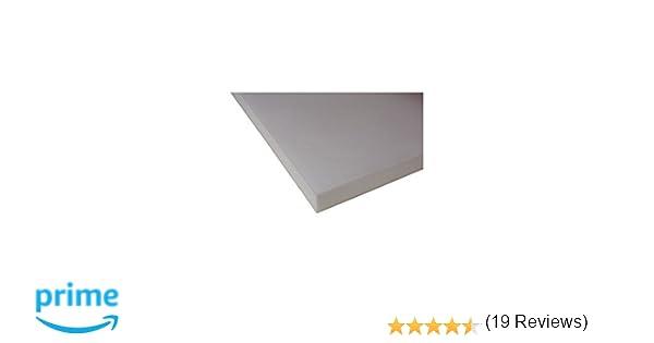 Ventadecolchones Plancha de Viscoelástica para Topper Sin Funda (90 x 190 cm - 3 cm de Visco): Amazon.es: Hogar