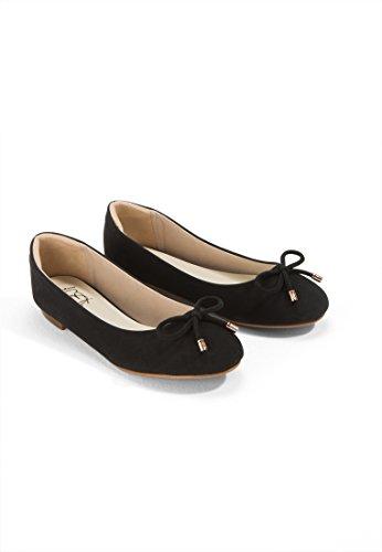 Mary Ballet Black Choo Women's Velvet Flats Ms qCBvwAx