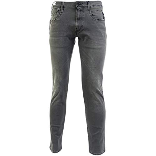 Replay Grey Hyperflex Slim Fit Jean/Denim Pants - M914-000-661-S08-010 34/30