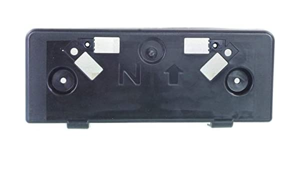I-MATCH AUTO PARTS FRONT LICENSE PLATE BRACKET TAG HOLDER REPLACEMENT for 2009-2010 TOYOTA COROLLA/_SEDAN TO1068105 5211402040 BLACK TEXTURED