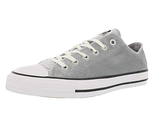 Converse Chuck Taylor Ox Velvet Athletic Women's Shoes Size 5 Wolf Grey/White