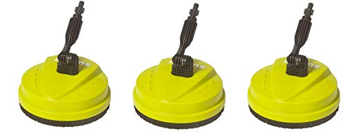 Sun Joe SPX-PCA10 10-Inch Surface, Deck and Patio Cleaning Attachment for SPX Series Pressure Washers (3-Pack) by Sun Joe