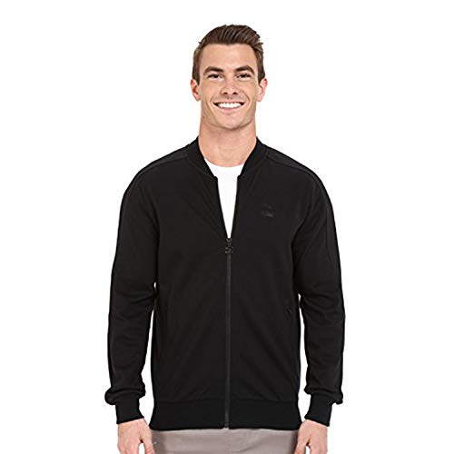 (PUMA Men's T7 Bomber Jacket Black Outerwear)