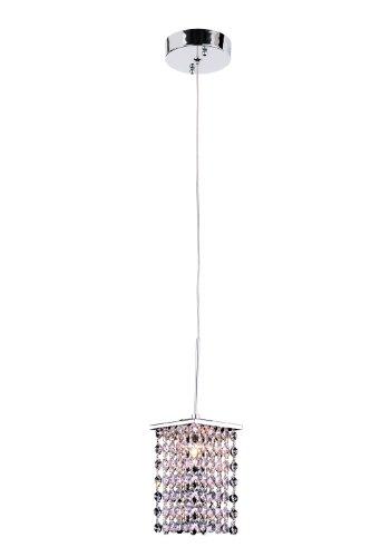 Trans Globe Lighting PND-706 Indoor Sava 4'' Pendant, Polished Chrome by Bel Air Lighting