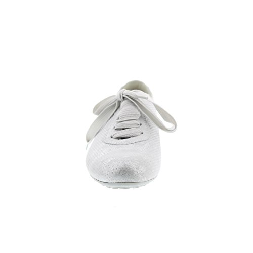 Semler Nele Weiss Silber Metall Velour Metall Nappa - N6146481101 White