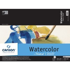 Canson® The Amazing 14'' x 10'' Watercolor Cold Press Field Book (EA) x Quantity of 6 by Generic