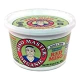 Miso Master Organic Traditional Red and Dom Miso, 16 Ounce -- 6 per case.