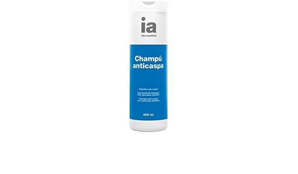 INTERAPOTHEK CHAMPU ANTICASPA 400 ML: Amazon.es: Belleza
