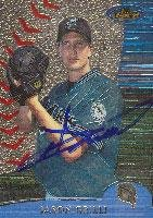 Jason Grilli Calgary Cannons - Marlins Affiliate 2000 Topps Finest Autographed Card - Minor League Card. This item comes with a certificate of authenticity from Autograph-Sports. Autographed ()