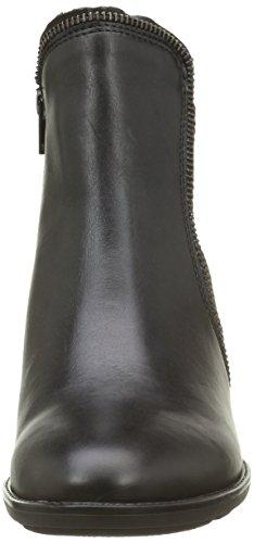 Gabor Shoes Basic, Botines para Mujer Multicolor (Schwarz/ZinnMicro 27)