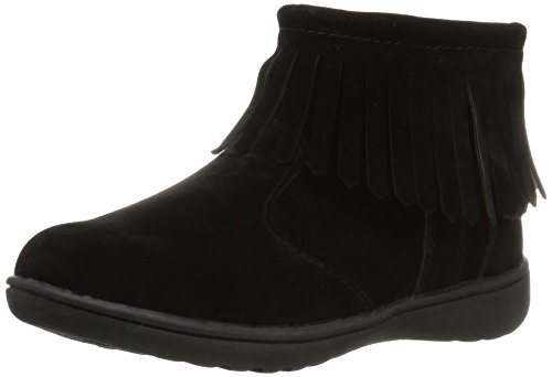 Pictures of Carter's Girls' Cata2 Fashion Boot Black Black 12 M US Little Kid 1