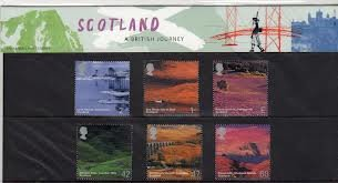 2003 Scotland-A British Journey Royal Mail Presentation Pack No.349