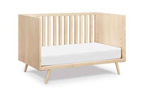 Ubabub Nifty Timber 3-in-1 Crib In Natural Birch, Greenguard Gold Certified