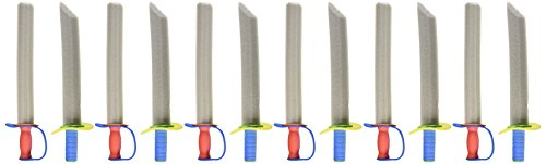 "Super Z Outlet 17"" Foam Prince Sword Toy Set Party Supplies (12 Swords)"