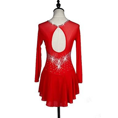 Rojo Oscuro Vestido Azul Color Mujer Para Zhangminzl De Patinaje Y Niña Pv16wC6q