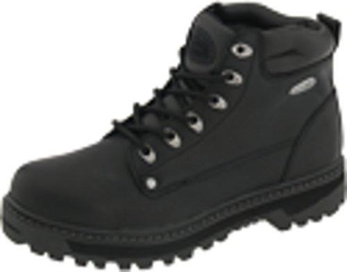 Skechers Men's Pilot Lace Up Leather Medium/Wide Boots  - 14