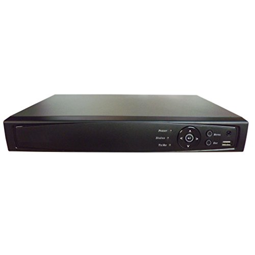 Surveillance Digital Video Recorder 8CH HD-TVI/CVI/AHD H264 Full-HD DVR 1TB HDD HDMI/VGA/BNC Video Output Cell Phone APPs for Home & Office Work @1080P/720P TVI&CVI, 1080P AHD, Standard Analog& IP Cam by 101 AV Inc (Image #1)