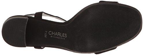 Dress Miller David Black Charles Sandal Platform by Microsuede Women Charles qU6YwI