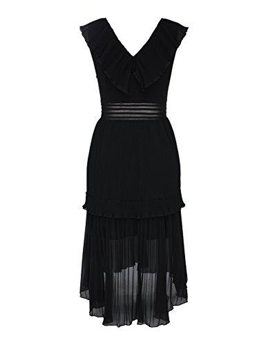 APART Fashion Damen Partykleid Schwarz ryxcS