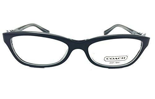 New Authentic COACH ELISE (HC6014) Womens Eyeglasses in Black