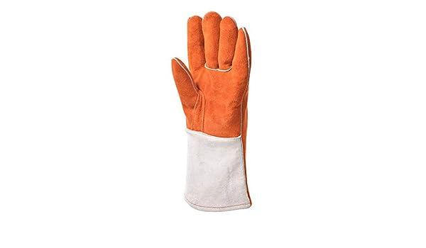 Amazon.com: DUDDP Gloves Guantes de soldadura eléctricos Guantes aislantes contra el escaldado Guantes industriales Guantes resistentes a altas temperaturas ...