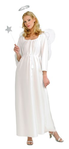 Rubie's Angel Costume, White, One Size