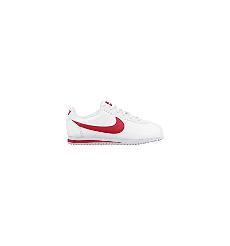 Nike Cortez (Ps), Zapatillas de Running para Niños Blanco / Rojo (White / University Red)