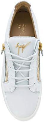 Giuseppe Zanotti Fashion Design Woman RW70001012 White Leather Sneakers   Season Permanent