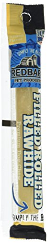 Redbarn Pet Products 017101 Filled Rolled Rawhide Chicken, 6'', 1Piece by Redbarn Pet Products