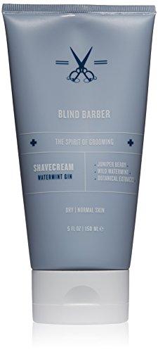 Blind Barber Watermint Gin Shave Cream, 5 Fl oz