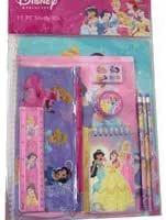 School Disney Princess 5 Piece Stationery Set Kids Gift