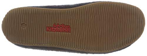 de Kitzbühel para Schwarz Pantoffel Phantom Zapatillas Mit Casa por 685 Estar Wollbommel Living Mujer FZXxUU