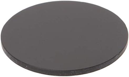 Isali ZWB2 Ultraviolet UV Band Pass Filter UV Flashlight Diameter 25mm Thickness 1.5mm