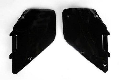 - UFO Plastics Side Panels Black for Suzuki RM 125 250 96-00