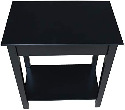 International Concepts Narrow End Table