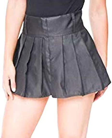 Divas - Mini Falda Plisada para niñas, Color Negro: Amazon.es ...